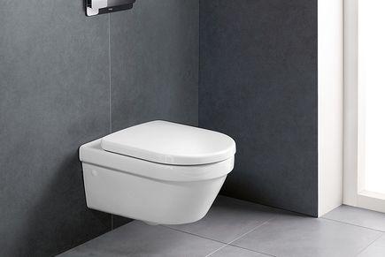 Architectura WC mit verdeckter Befestigung